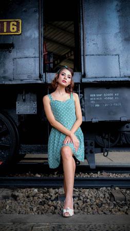 宣材写真 女性の服装コーデ